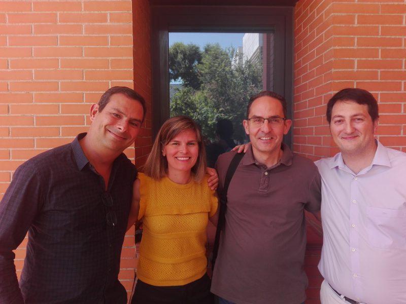 El equipo de Limno Pharma, que trabaja desde el Business Innovation Pharma de Granada.