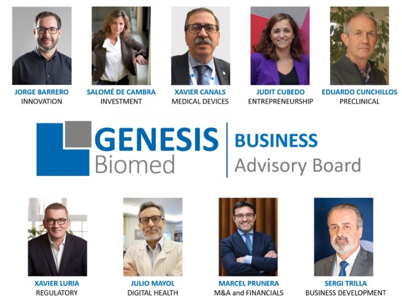 GENESIS Biomed is reinforced by hiring a top-level advisory panel